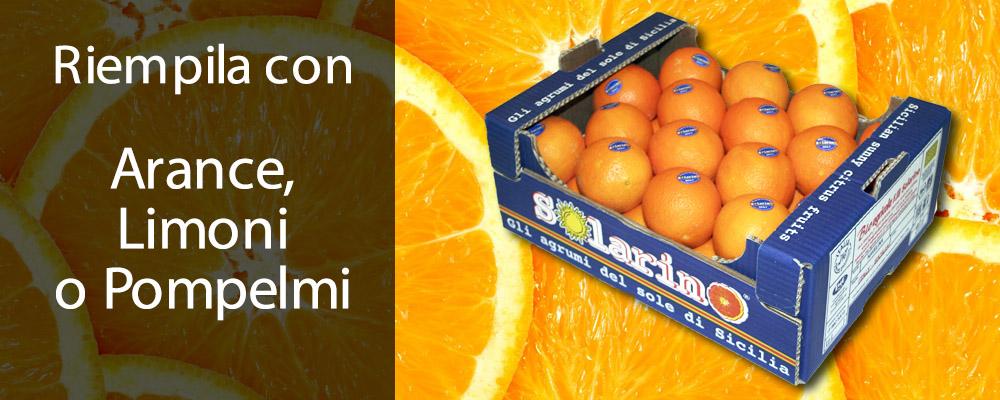 arance, pompelmi e limoni a domicilio Solarino aranceacasatua